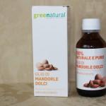 Olio di mandorle dolci Greenatural