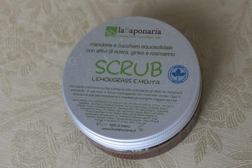 scrub lemongrass e menta