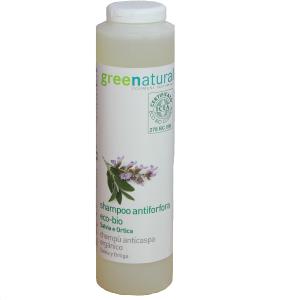 Shampoo per capelli grassi e con forfora  Greenatural
