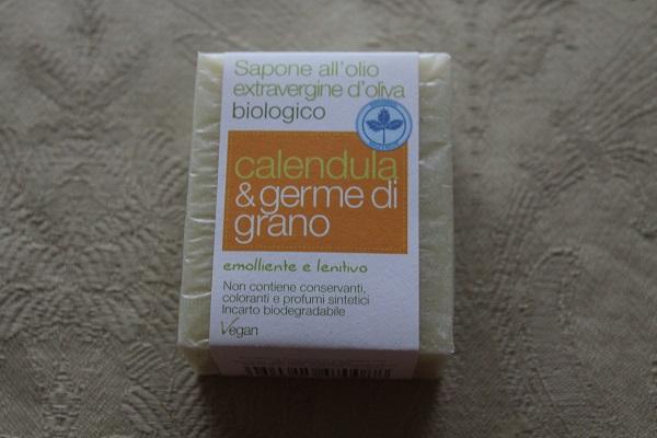 sapone calendula e germe di grano