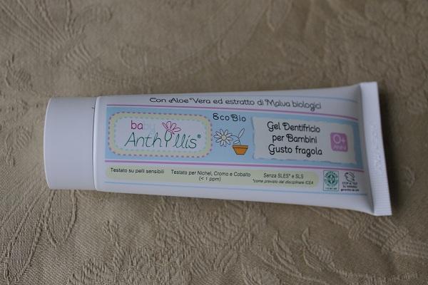 dentifricio baby anthyllis