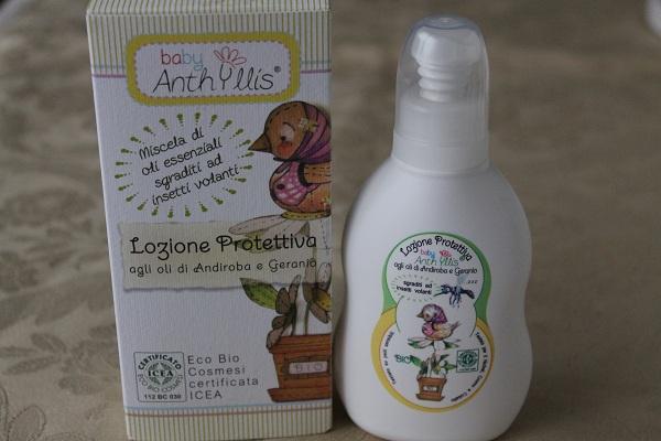 lozione protettiva baby anthyllis