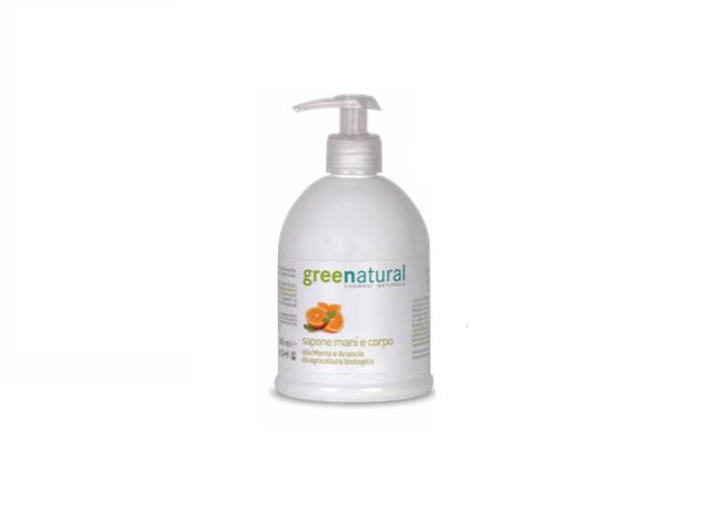 sapone mani greenatural