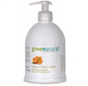 Sapone delicato mani e corpo bio Greenatural