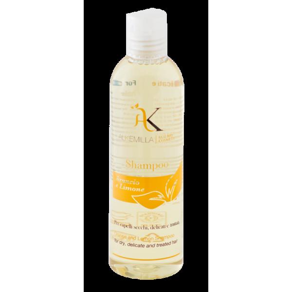 shampoo arancio e limone