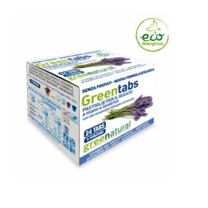Greentabs pastiglie per il bucato a mano e in lavatrice