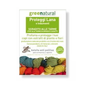 Sacchetto profumato proteggi lana e indumenti