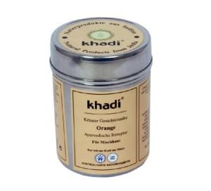 viso corpo arancia khadi