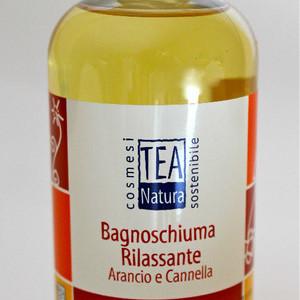 Bagnoschiuma Rilassante Arancio e Cannella