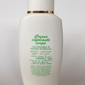 Crema corpo esfoliante