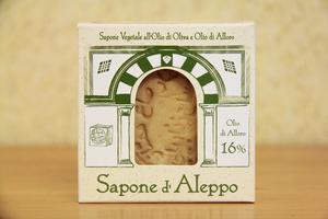 SAPONE DI ALEPPO 16% Tea Natura