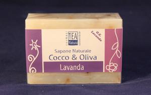 Sapone all'olio di cocco e oliva con Lavanda TEA Natura