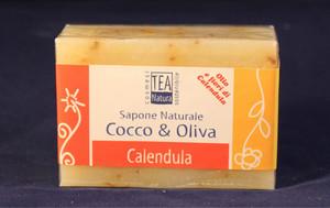 Sapone all'olio di cocco e oliva con calendula TEA Natura