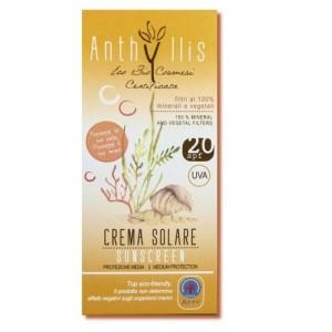 Anthyllis crema fluida solare protezione media SPF 20
