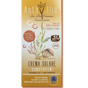 Anthyllis crema fluida solare protezione alta 30 SPF