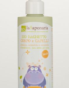 Bio bagnetto corpo e capelli LaSaponaria