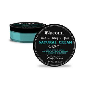 Crema per uomo viso e corpo Nacomi