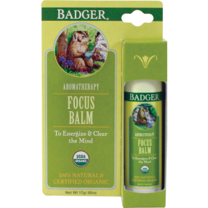 Focus Balm - Badger Balm