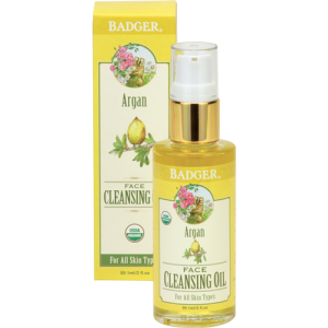 Argan Face Cleansing Oil - Badger Balm