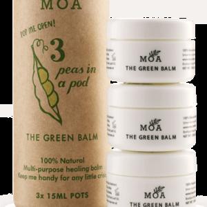 Peas in a pod(3 green balm) - Moa