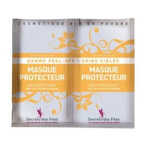 "Maschera Peel Off protettiva e nutriente all 'Ananas ""Secrets des fées"""