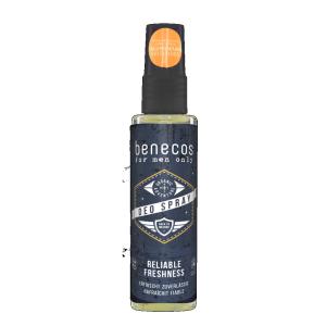 Deodorante spray uomo Benecos