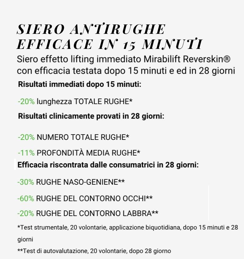 Siero antirughe mirabilift 10+ Zoé